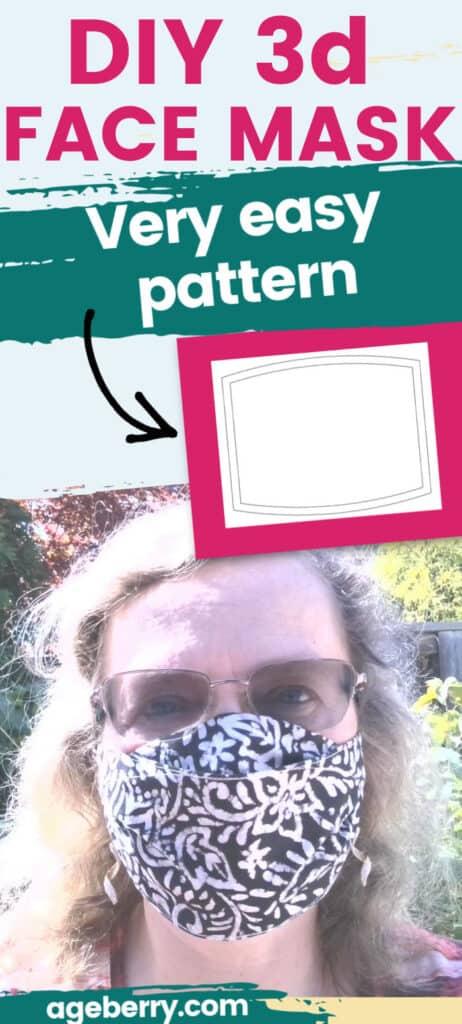 Face mask template PDF