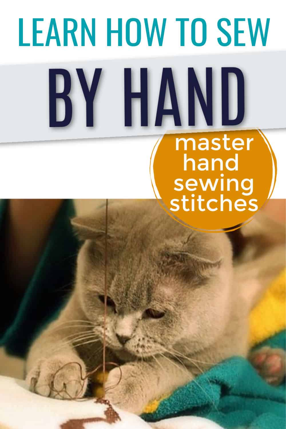 learn how to sew by handf