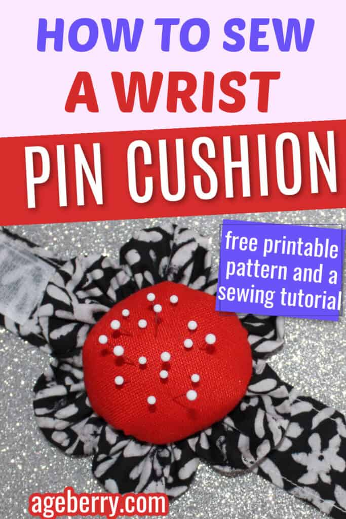Wrist pin cushion bracelet