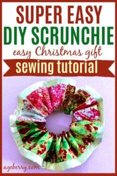 Super Easy DIY Scrunchie