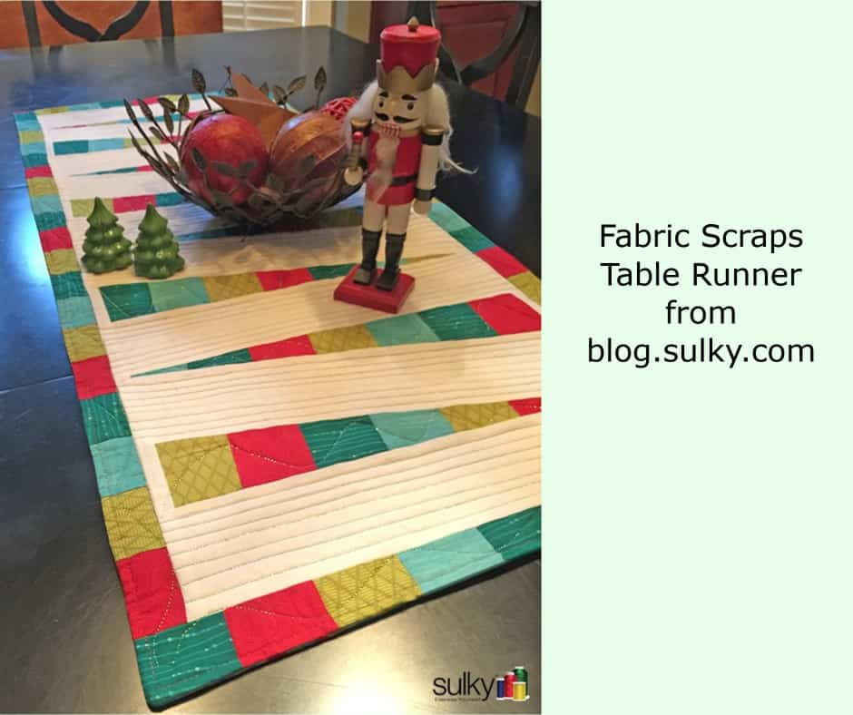 Christmas table runner to sew