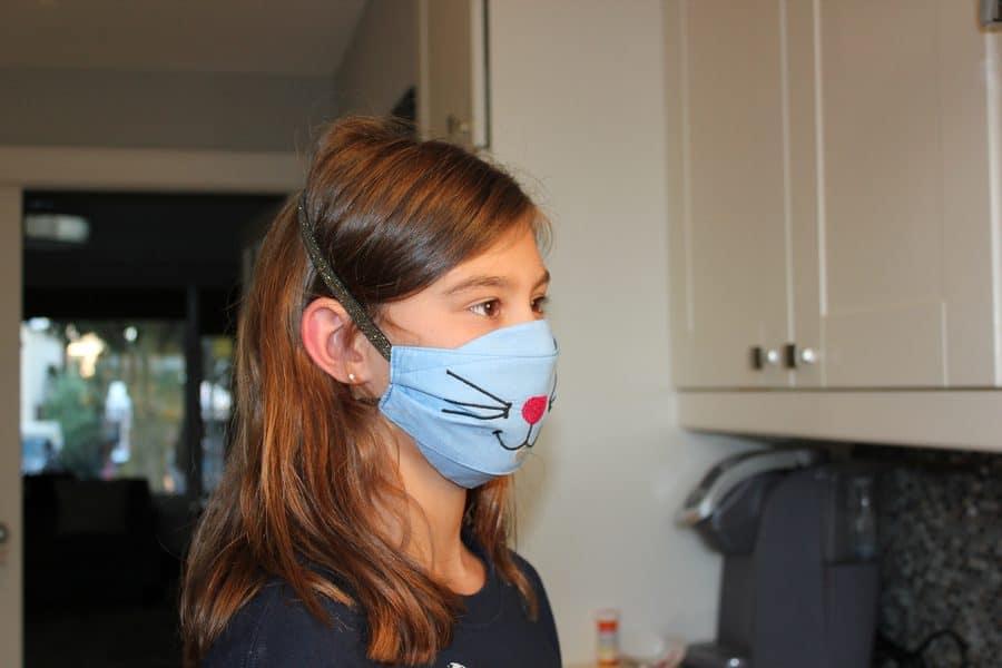 child size face mask pattern