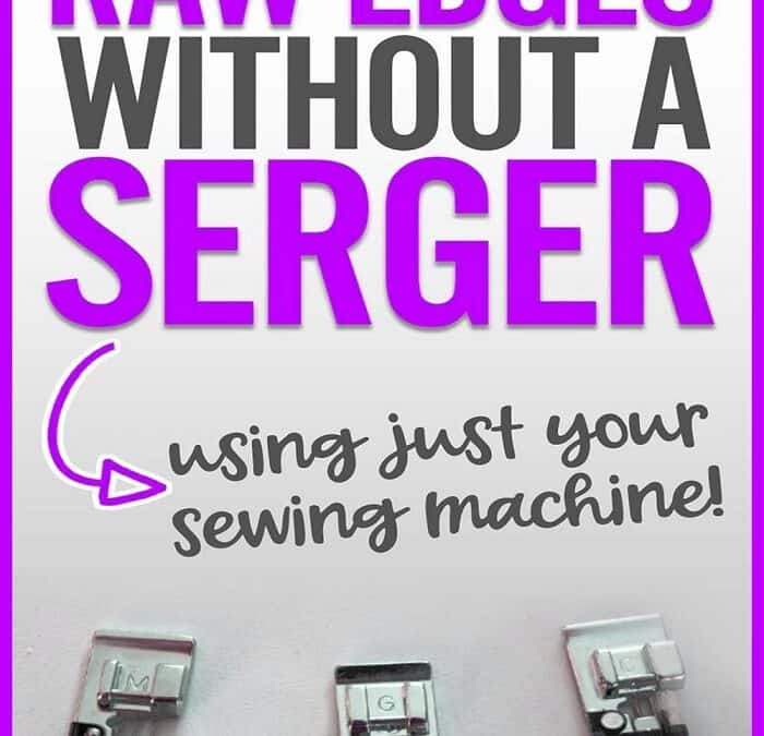 How to use overcast presser feet for sewing overcasting stitches