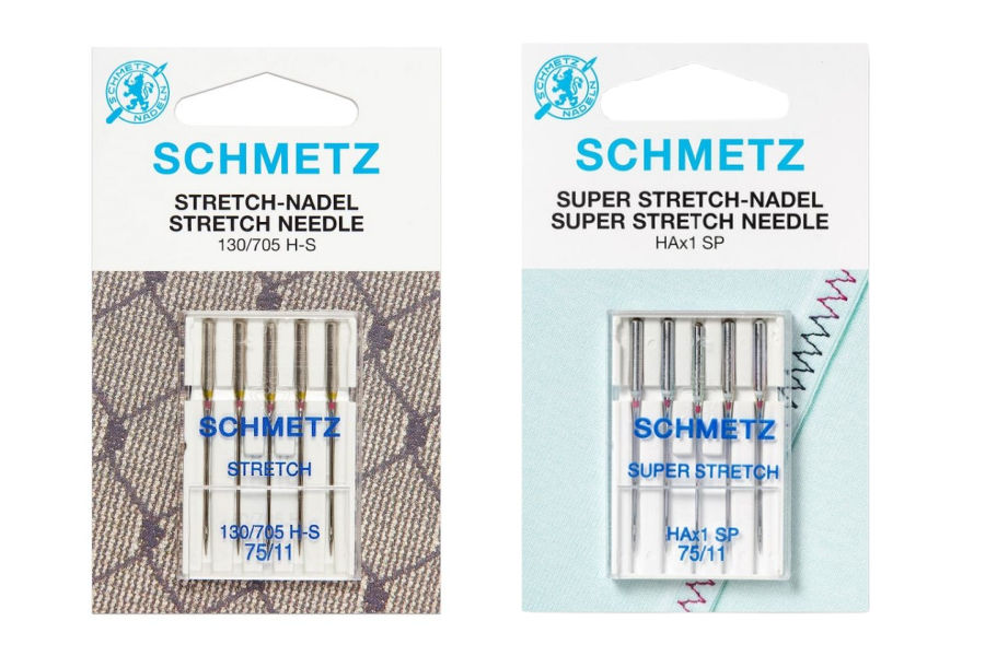 stretch needles for sewing machine