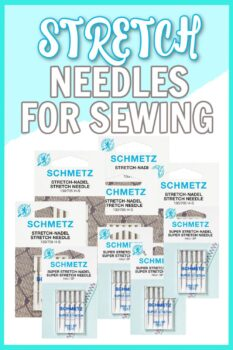 stretch needle for sewing