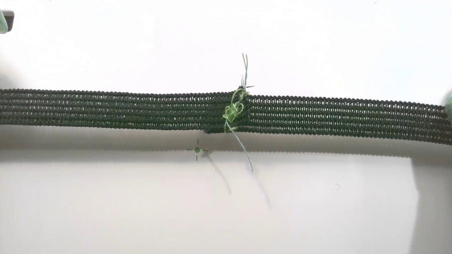 how to sew elastic
