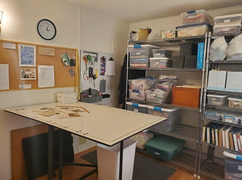 Sewing Table Ideas For Small Spaces
