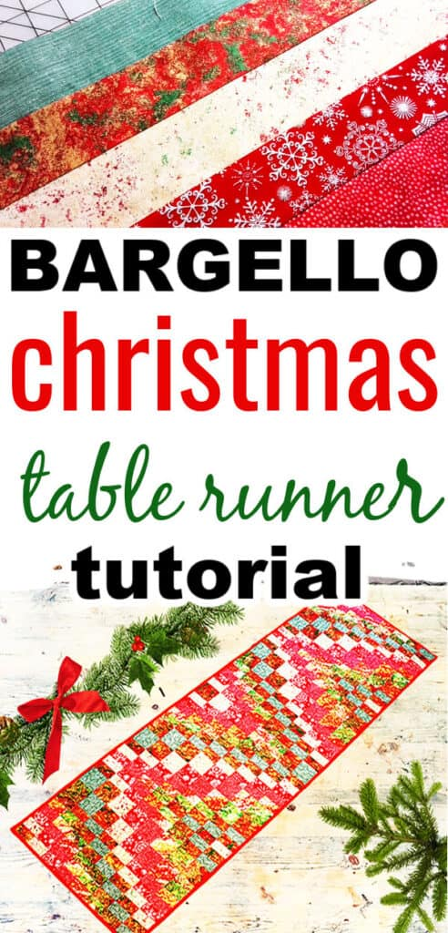Bargello table runner pattern