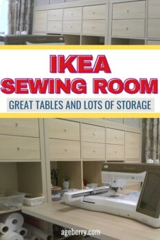 IKEA sewing room ideas for small spaces