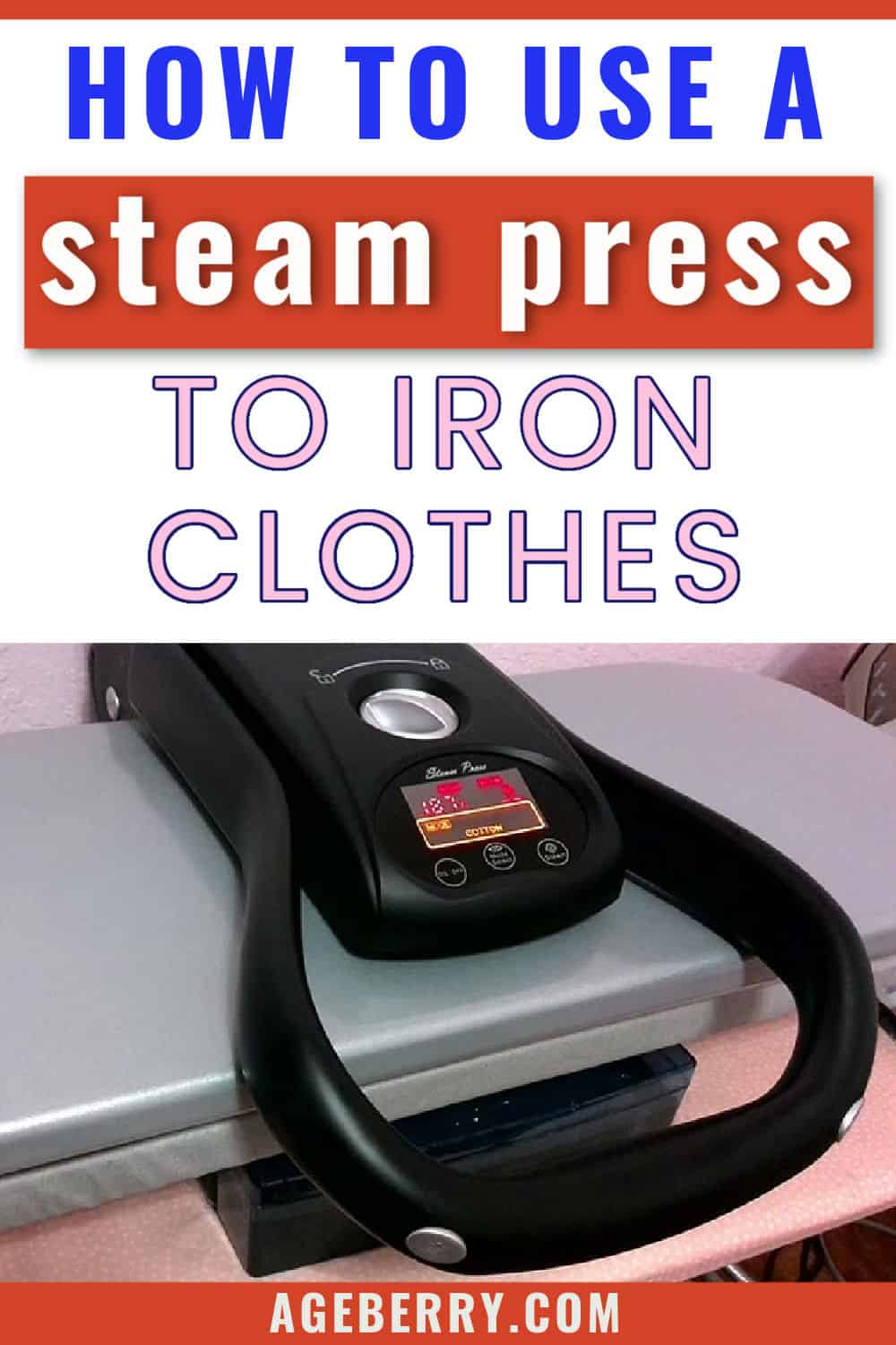 Review of a Singer Intelligent Steam Press