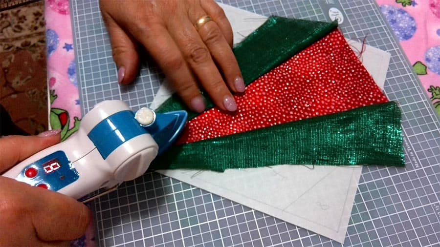 Using Dritz mini iron for sewing