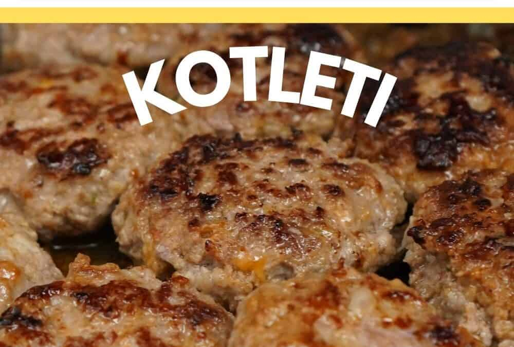 Russian meat patties kotleti {a recipe and cooking secrets}