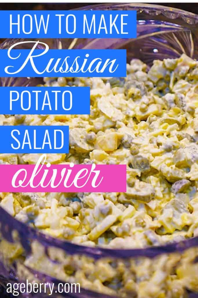 Russian potato salad Olivier