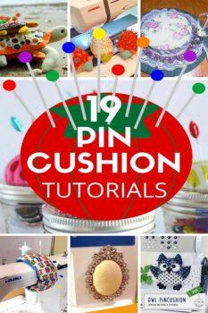 DIY pin cushion ideas and patterns
