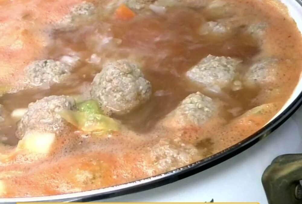 Frikadelki – Russian Meatball Soup Recipe