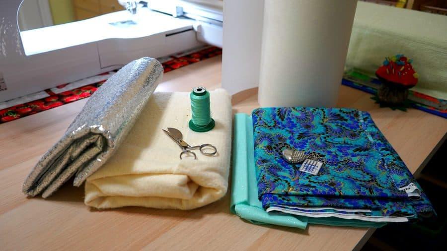 what you will need to make a mug rug