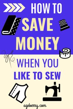 How To Save Money When You Like To Sew