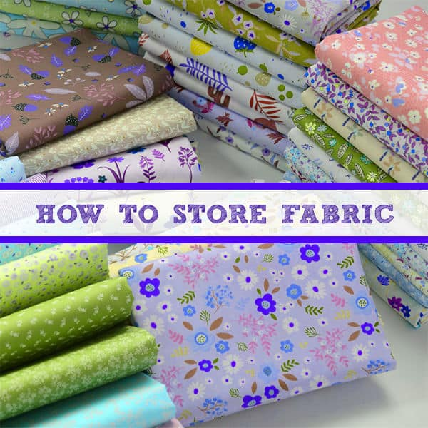 How To Store Fabric: Fabric Storage Ideas For A Sewing Room