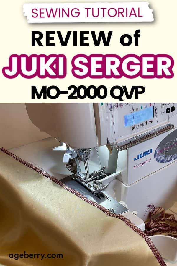 Review of Juki serger MO-2000 QVP