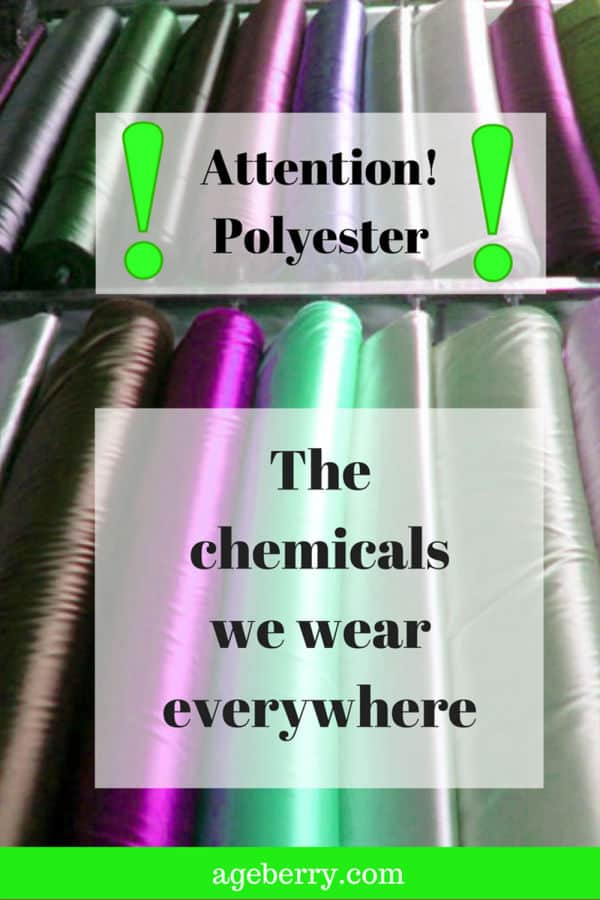 why I don't like polyester fabric for my sewing projects