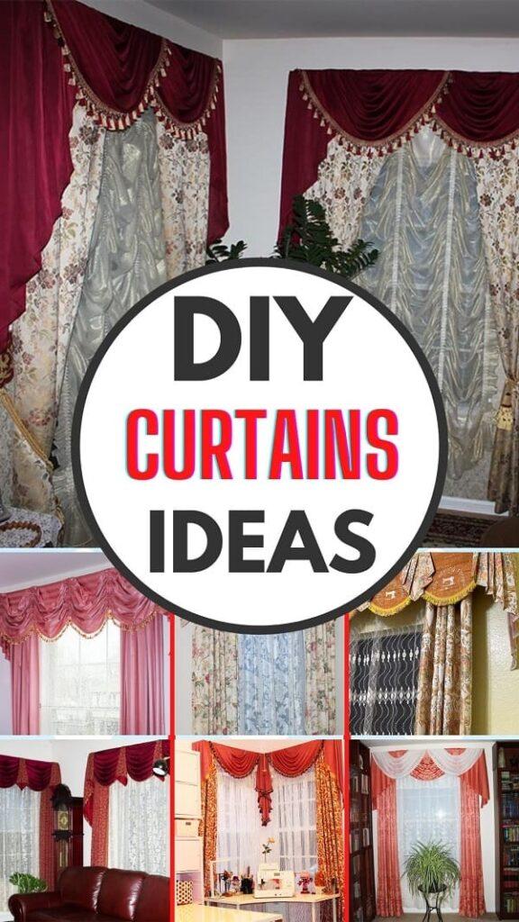 DIY curtains ideas