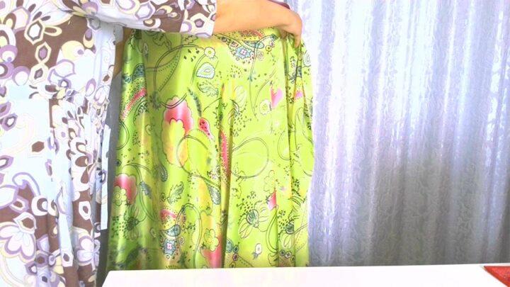 bias cut fabric drapes beautifully