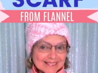 how to sew a simple scarf sewing tutorial