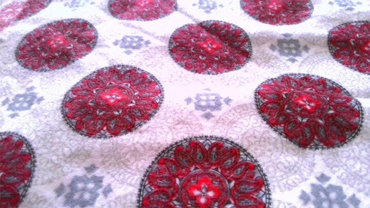 cotton flannel fabric fluffy texture