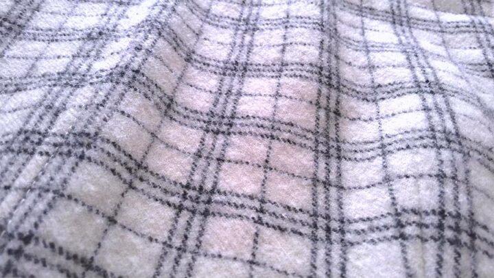 soft cozy wool flannel fabric