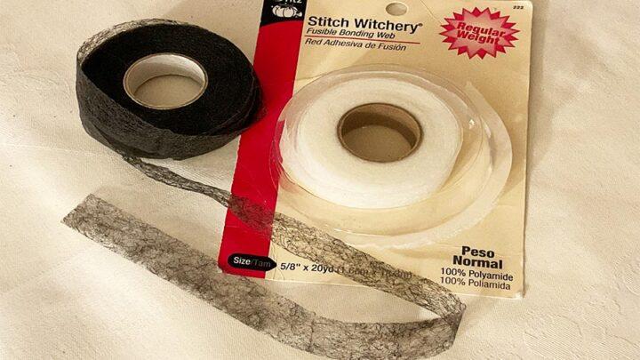 double sided iron-on hem tape