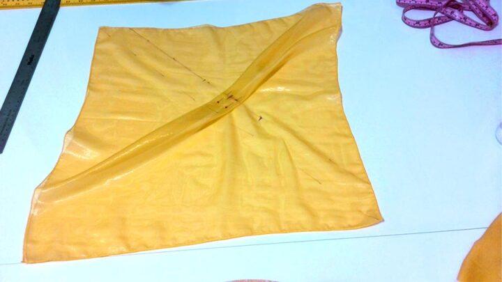making flutter sleeves (pleats)