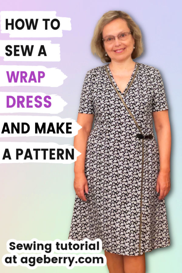 how to sew a wrap dress