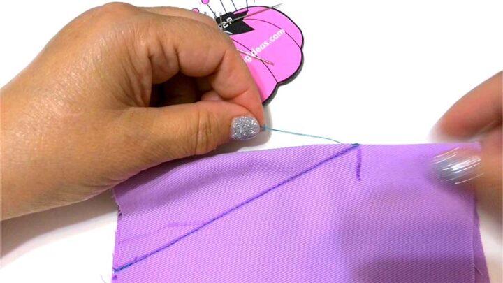 hiding the thread tails