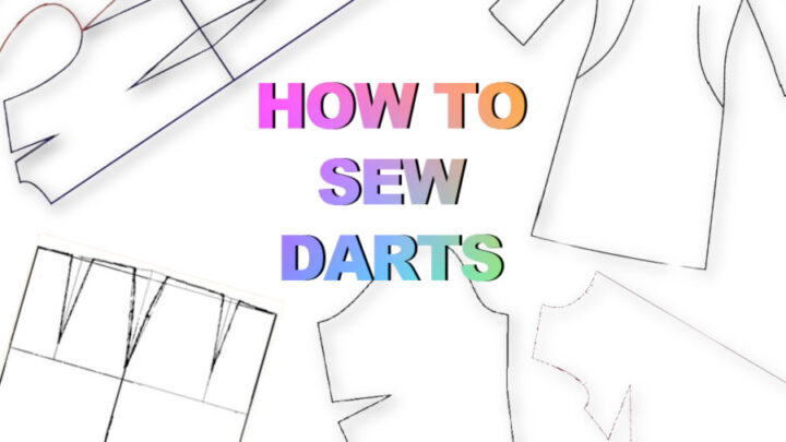 Learn how to sew darts with this sewing tutorial