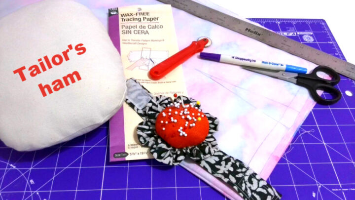 tools you need to sew darts