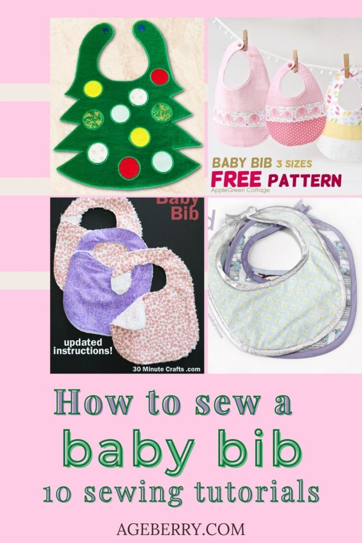 Learn how to sew a baby bib