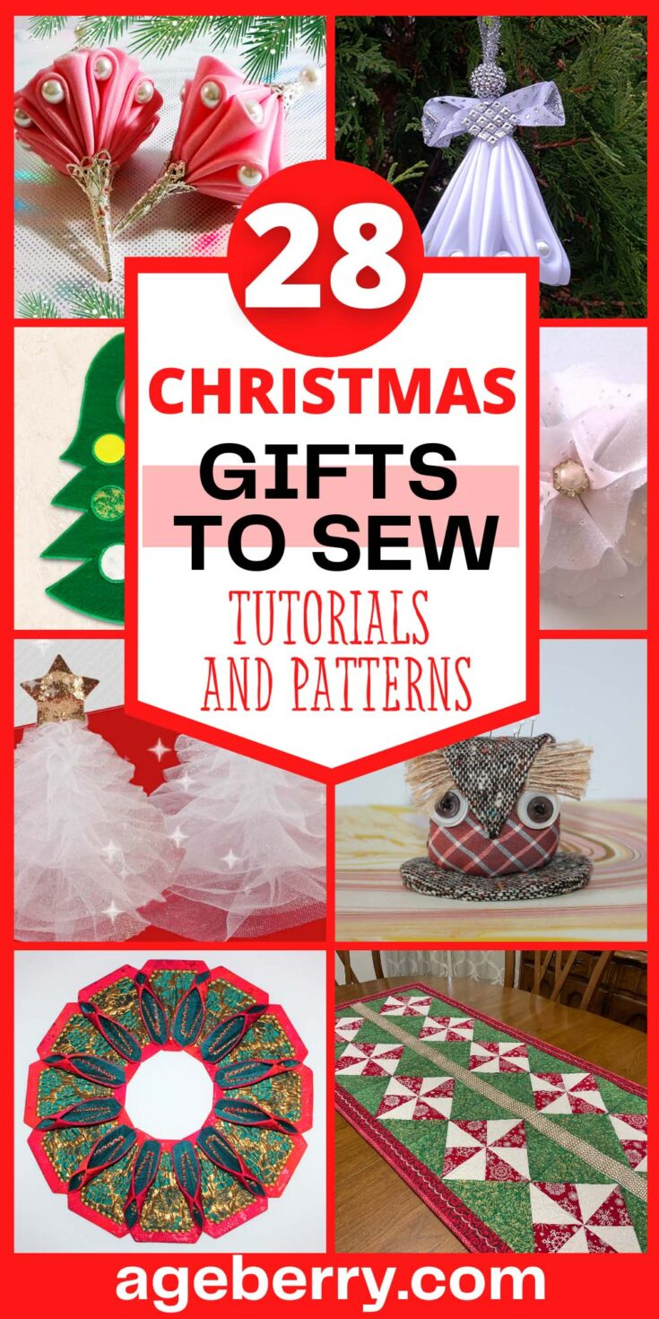 Sewing Christmas gifts ideas