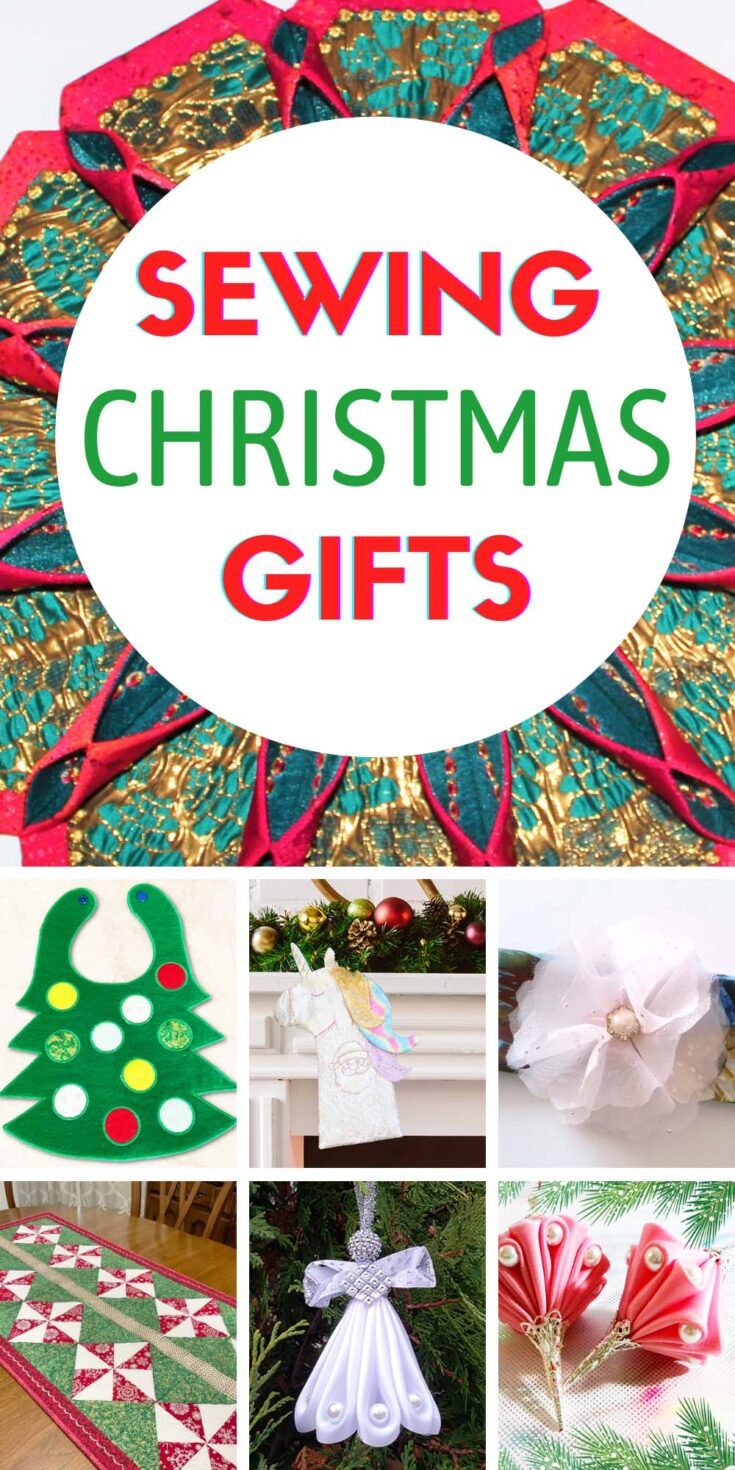 Sewing Christmas gifts ideas from Ageberry